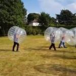 Video Bubble Football  Cambridgeshire