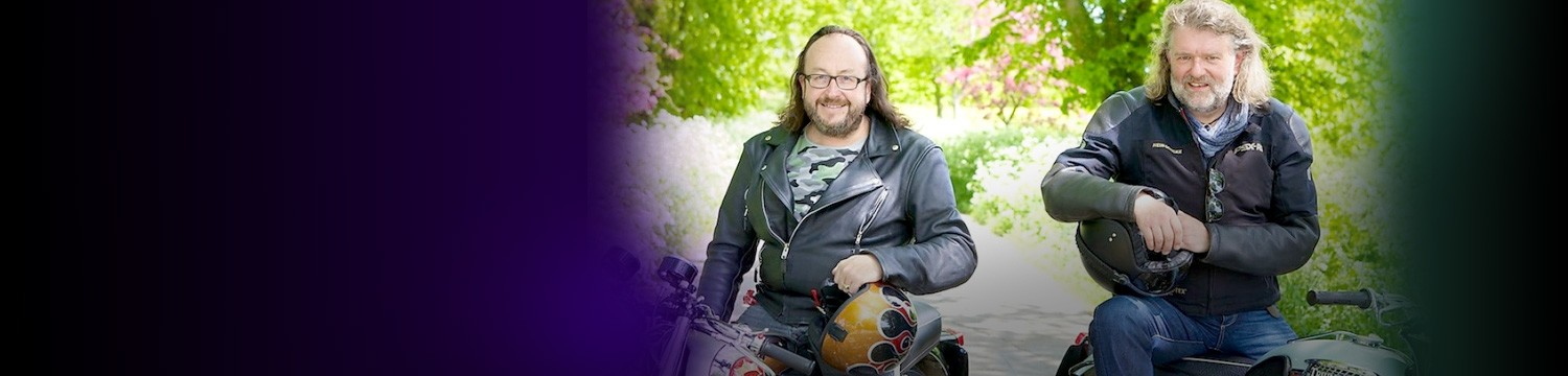 the hairy bikers join our ice sculpture team!