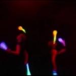 Video LED Jugglers  London