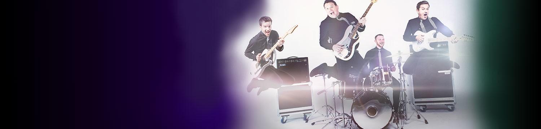 top 10 rock pop bands for weddings 2016 alive network. Black Bedroom Furniture Sets. Home Design Ideas