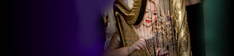 why book a wedding harpist?