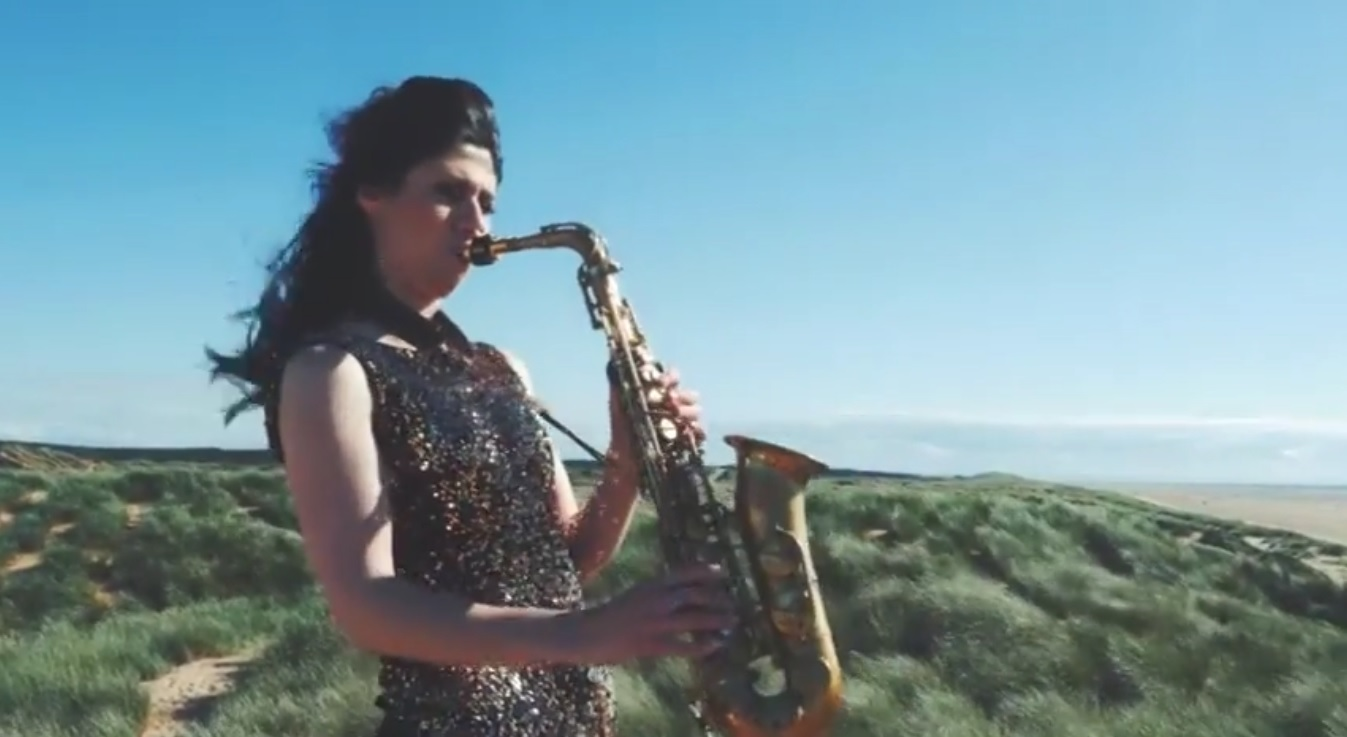 Video Sophia Plays Sax Saxophonist Chester, Cheshire