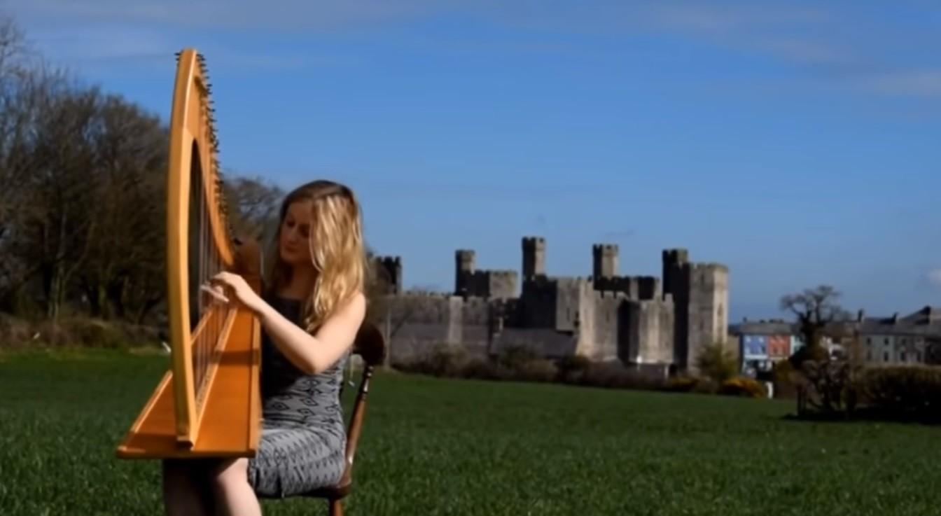 Video The Southwestern Harpist Harpist North Yorkshire