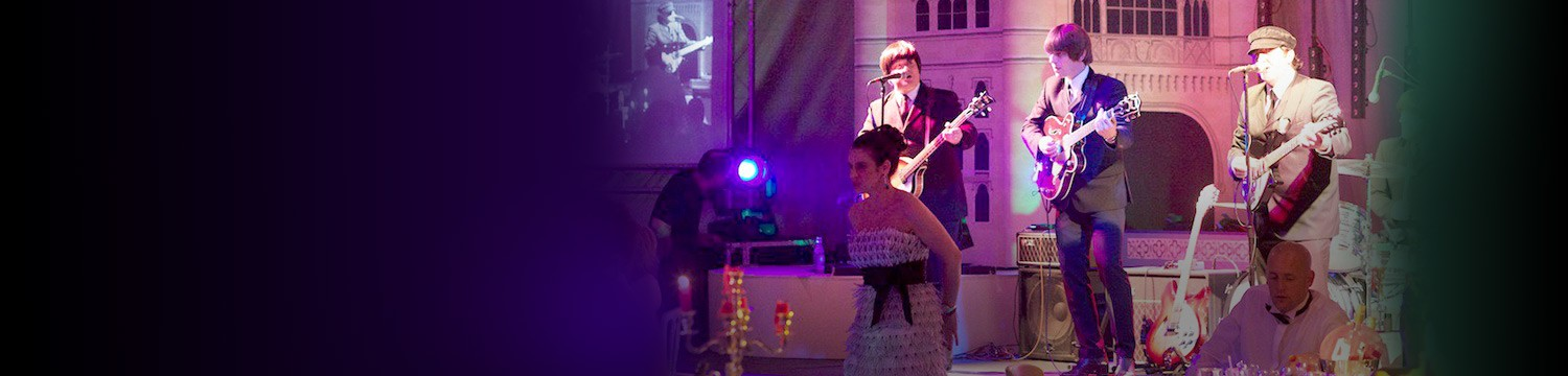 with the beatles and the globe girls bring the best of british music to spalding midsummer ball!