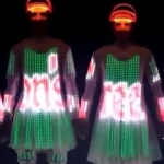 Video Christmas LED Hoverboards LED Hoverboard Performers Derbyshire