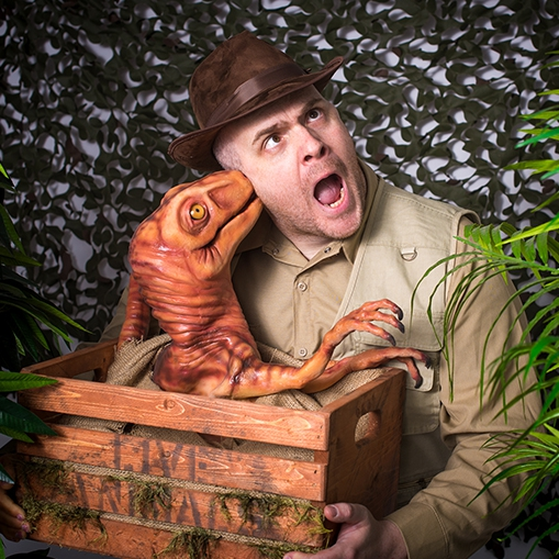 Dougie the Dino Mix and Mingle Entertainer Norfolk