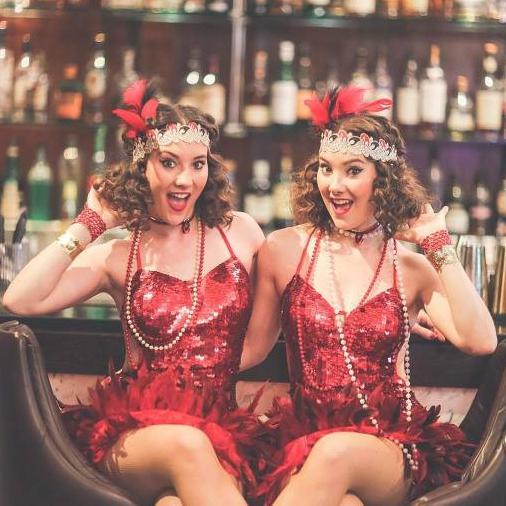 Twin Charleston Dancers  London
