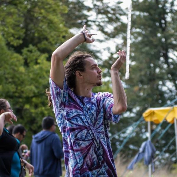 Bonkoodle Circus Performer Devon