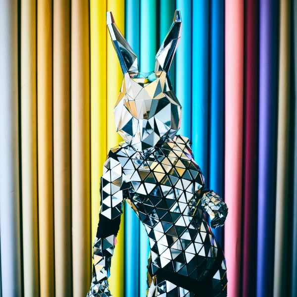 Robo Bunny Mix and Mingle Entertainer London