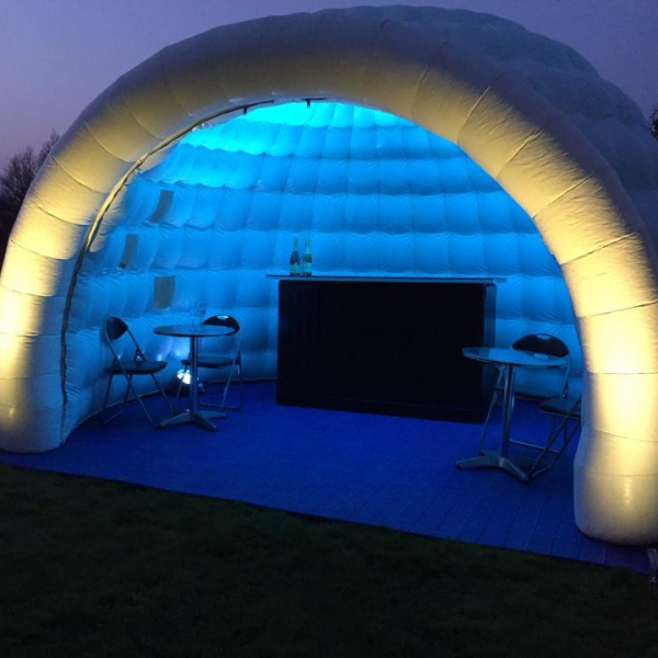 Mini Igloo Hire Inflatable Igloo Hire Shropshire