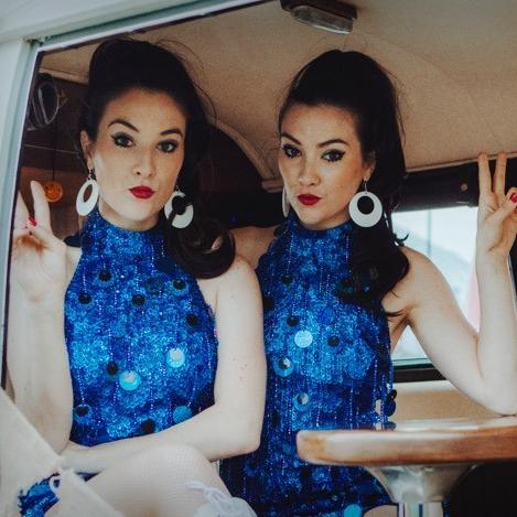60s Dance Twins Dance Duo London