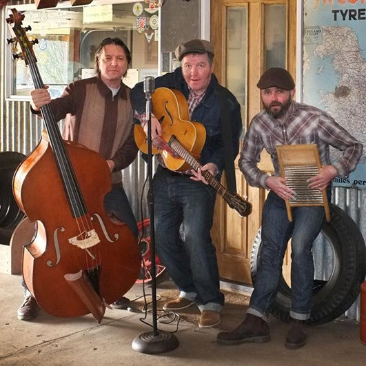 The King Bees Rock 'n' Roll Trio West Yorkshire
