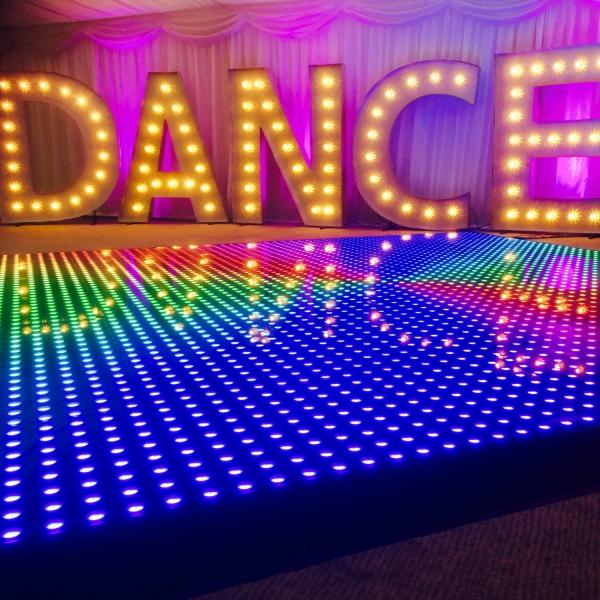 The Digital Dance Floor Dance Floor Hire West Yorkshire