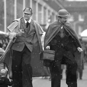 Sherlock Holmes and Dr Watson Lookalike Lookalike Oxfordshire