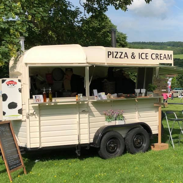 The Pizza Van Stone-baked Pizzas Berkshire