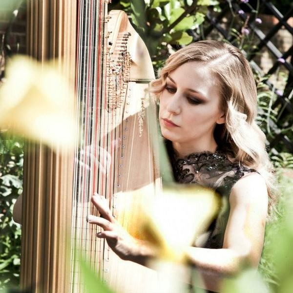 The London Harpist  London