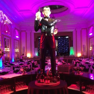 James Bond Themed Parties Event Decor Cambridgeshire