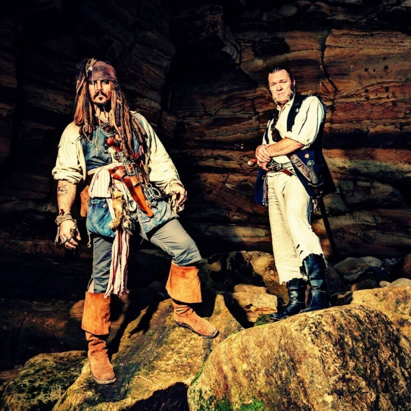 Captain Jack and Gibbs Lookalike North Yorkshire