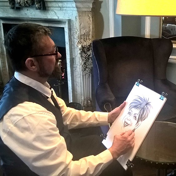 Alex Caricatures Caricaturist London