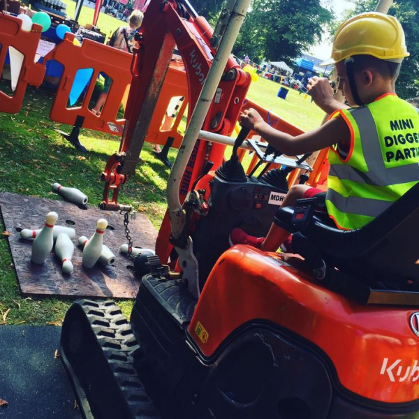 Mini Digger Experience Childrens Entertainer Kent