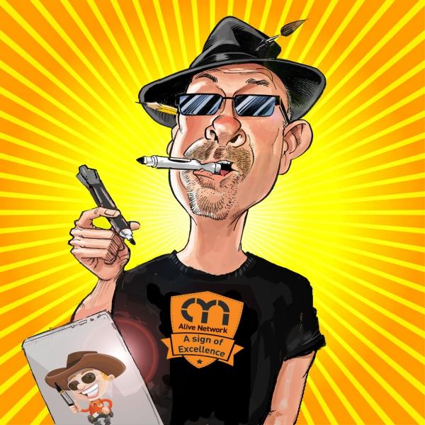 The Caricaturetainer Caricaturist Berkshire