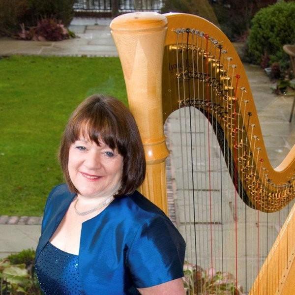 Anne Hewitt (Harpist)  Cheshire