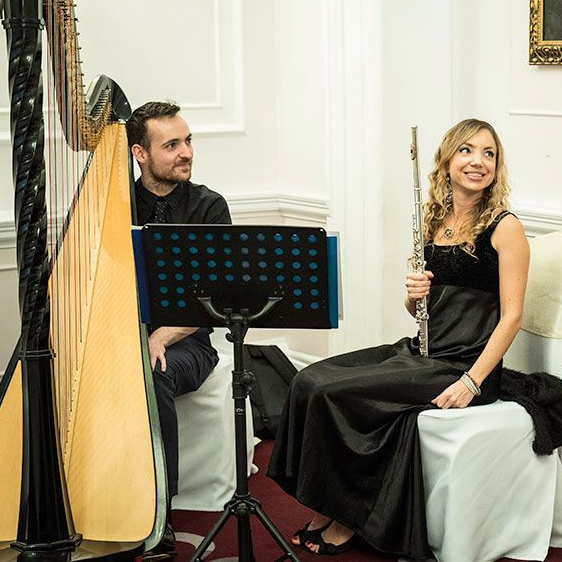 Astral Duo Flute and Harp Duo London