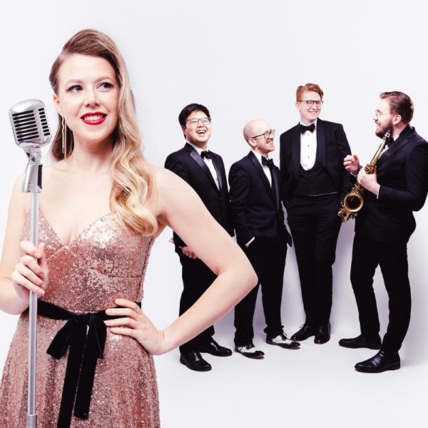 Bella And The Bourbon Boys Vintage Jazz Covers of Pop Songs London