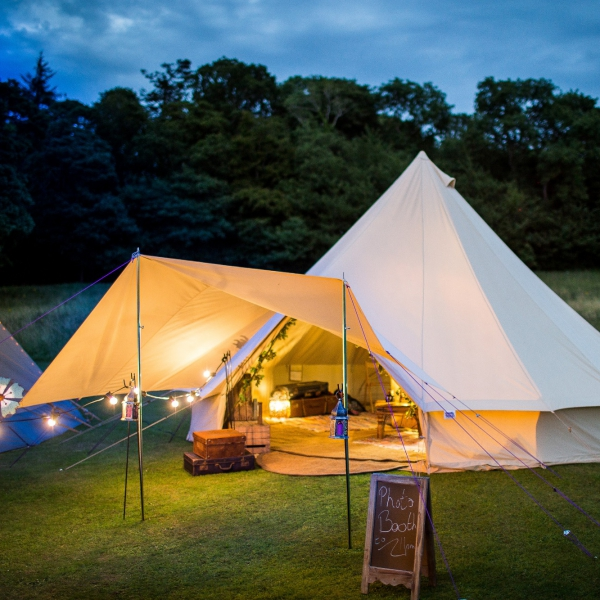 Bell Tent Photo Booth Photo Booth Leicestershire
