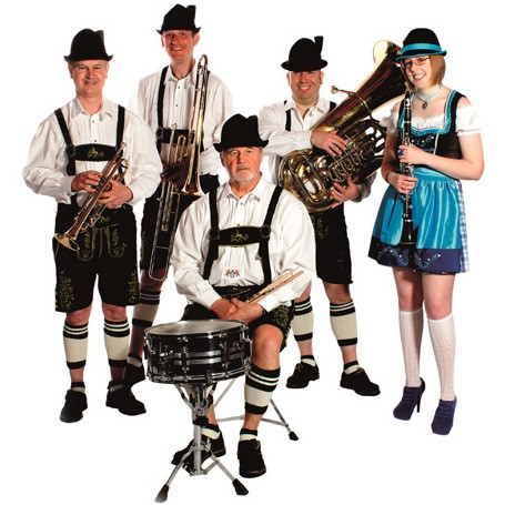 Bier Stein Oompah Band Bavarian Style Oompah Band Kent