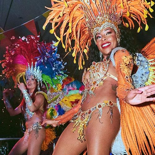 Brazilian Carnival Dancers Dancers London