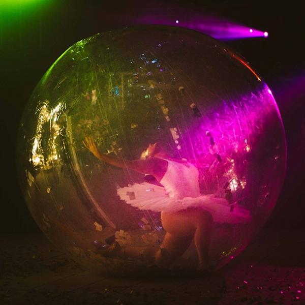 Bubble Ballerina Unique Ballerina Act Kent
