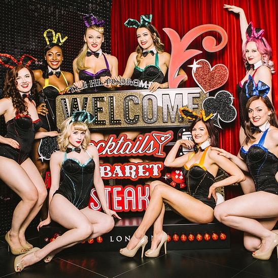 Cabaret Burlesque Revue Dancer London