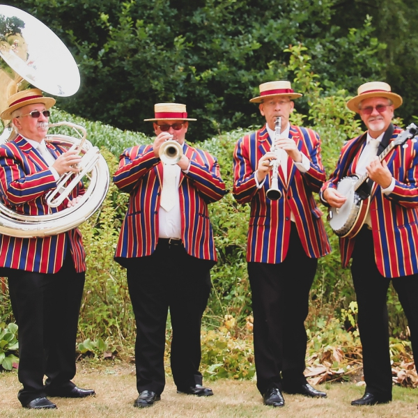 Burgundy Boater Band  Hampshire