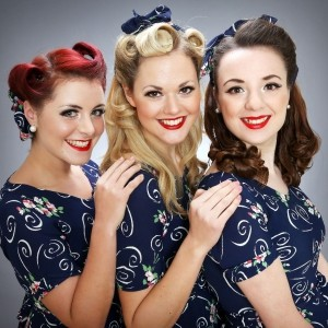 The Harmony Sisters 1940's Vocal Harmony Trio London