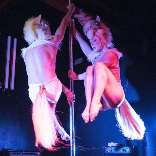 Circus Cabaret Show Circus Performer East Sussex