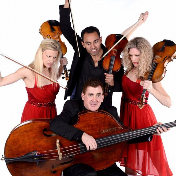 Comedy String Quartet | String Quartet London | Alive Network