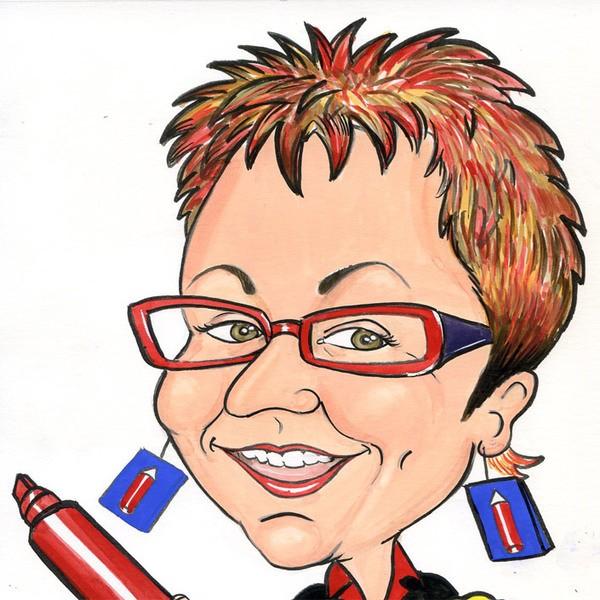 C R Caricatures Caricaturist Shropshire
