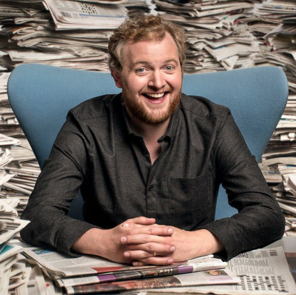 Miles Jupp Comedian London