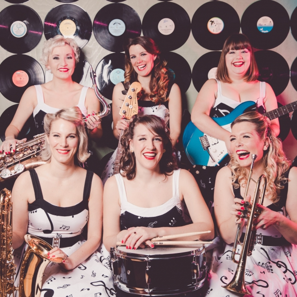 All Dolled Up Rock n Roll Swing Band London