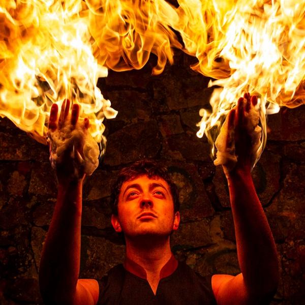 Damazo Fire Spectacular Fire Performer Somerset