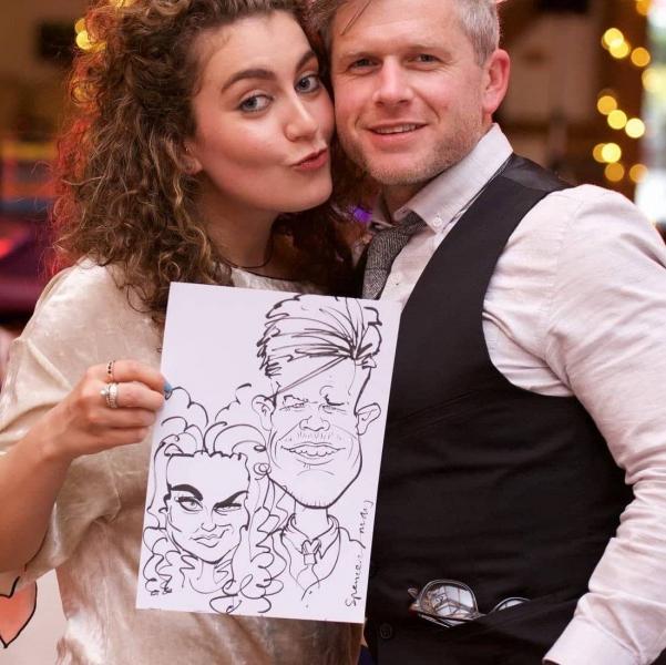 John Spencer Caricaturist Lancashire