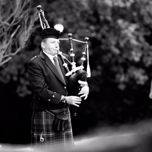 Donald The Bagpiper Piper Somerset