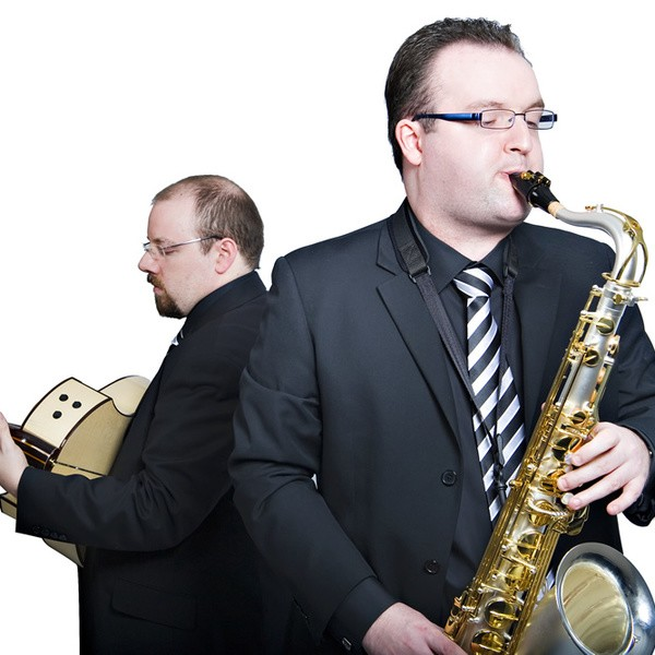 Double Time Jazz Duo Warwickshire
