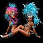 Brazilian Samba Cabaret Dancers Dancer London