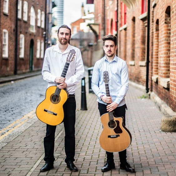 Nylon and Steel Instrumental Acoustic Guitar Duo West Yorkshire