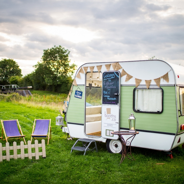 Caravan Photo Booth  Leicestershire