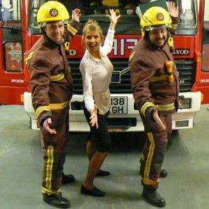 Fire Fighters In Song  London