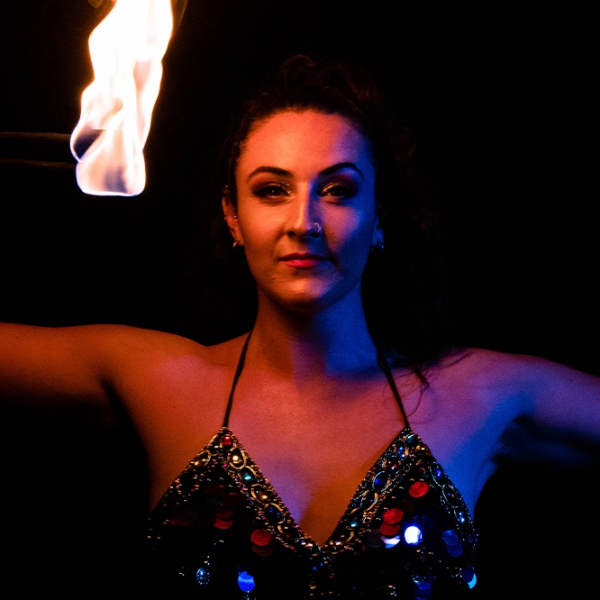 Fire Performer Jessica Fire Performer West Midlands