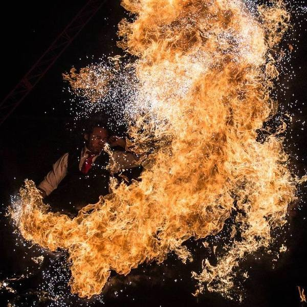 Fire and Glow Performers Circus Performer Leicestershire